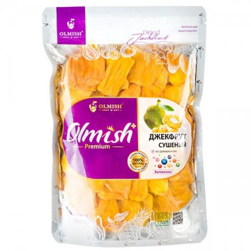 Джекфрут сушёный 500 грамм Olmish