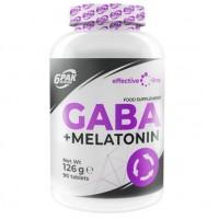 GABA + MELATONINE 90 табл. 6Pak Nutrition