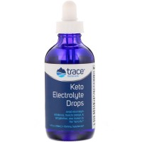 Keto Electrolyte Drops 118 мл Trace Minerals