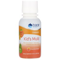 Kid's Multi liquid 237 мл с цитрусовым вкусом Trace Minerals