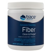 Complete Cleansing Fiber - with flax, chia & hemp! 240 г Trace Minerals