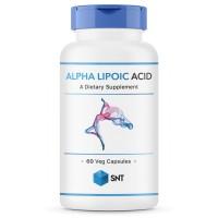 Alpha Lipoic Acid (альфалиполиевая кислота) 600мг 60 капсул SNT