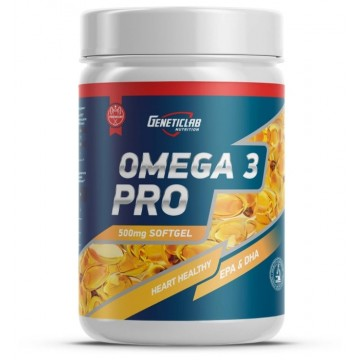 OMEGA 3 PRO 500 мг 90 капсул GeneticLab