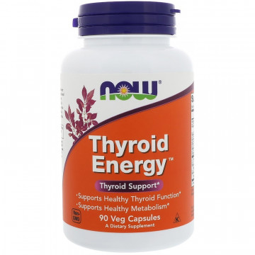 THYROID ENERGY 90 вег. капс. NOW Foods