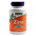 Zinc gluconate 50 мг 250 табл. NOW Foods