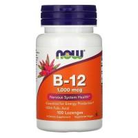 Methyl B-12 (метилкобаламин) 100 таблеток для рассасывания NOW
