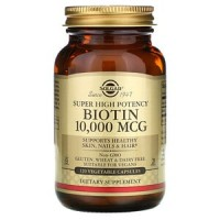 Biotin 10000 120 раст. капсул Solgar