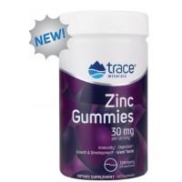 Zinc Gummies (цинк) 25 мг 60 жевательных конфет Trace Minerals