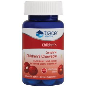 Complete Children's Chewable (мультивитамины для детей) 60 жев. таб. Trace Minerals