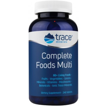 Complete Foods Multi (мультивитамины) 120 таблеток Trace Minerals