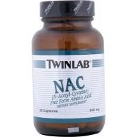 NAC (N-ацетил-цистеин) 600 мг 60 капсул Twinlab