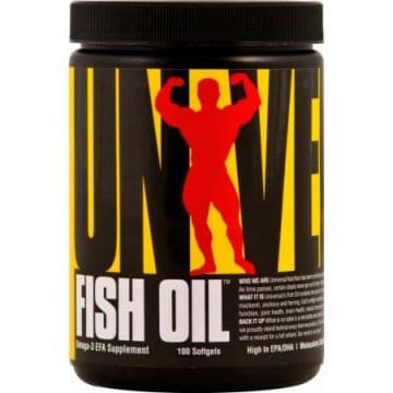 Fish Oil 100 жидких капсул