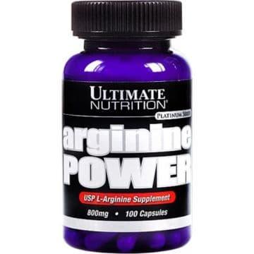 Arginine Power 800 мг 100 капс. Ultimate Nutrition