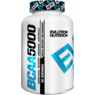 BCAA 5000 240 капсул EVLUTION NUTRITION