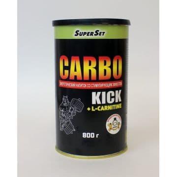 Carbo Kick + L-Carnitine 800 грамм СуперСет