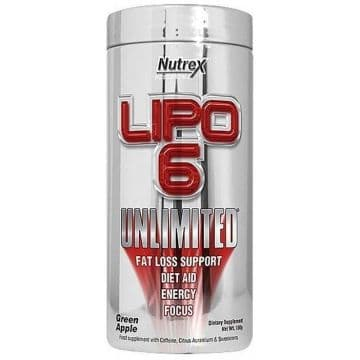 LIPO-6 UNLIMITED Powder 150 грамм Nutrex