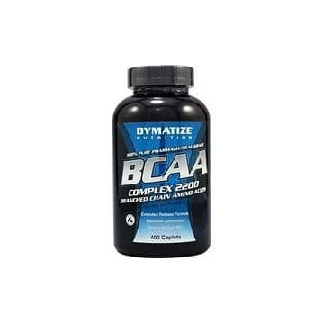 BCAA 2200 400 капсул Dymatize Nutrition