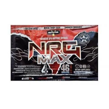 NRG MAX 44 грамма (2 порции) Maxler