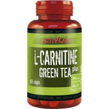 L-Carnitine+Greea Tea 60 капсул ACTIVLAB