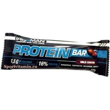 Protein bar с коллагеном 50 грамм IRONMAN