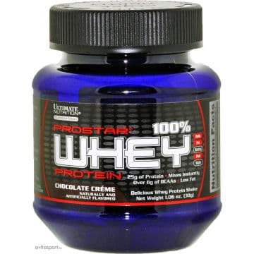 Prostar 100% Whey Protein 1 порция Ultimate nutrition