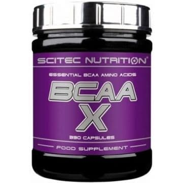 BCAA-X 330 капсул Scitec Nutrition
