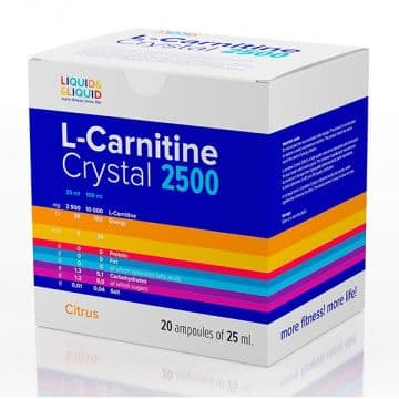 L-Carnitine Crystal 2500 20х25мл LIQUID&LIQUID