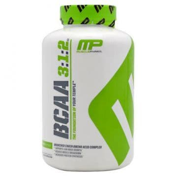 BCAA 3:1:2 240 капс. MusclePharm