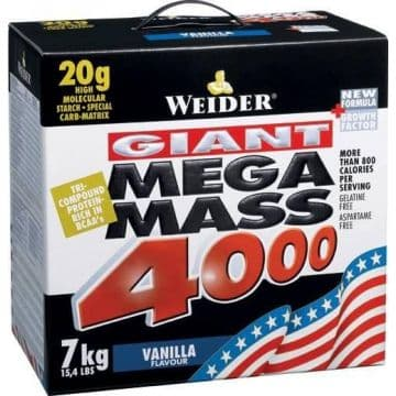 MEGA MASS 4000 7кг WEIDER