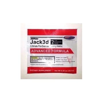 Jack3D ADVANCED FORMULA 2 порции USPLabs