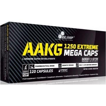 AAKG 1250 Extreme Mega Caps 120 капсул Olimp