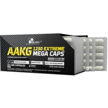 AAKG 1250 Extreme Mega Caps 300 капсул Olimp