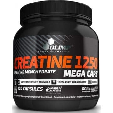 CREATINE 1250 Mega Caps 400 капс. Olimp