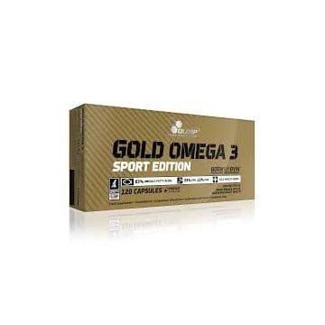 Gold omega-3 Sport Edition 120 капсул Olimp