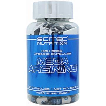 MEGA Arginine (Аргинин) 90 капсул (90 порций по 1300 мг)