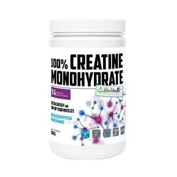 100% Creatine Monohydrate 500 грамм Biohealths Nutrititon