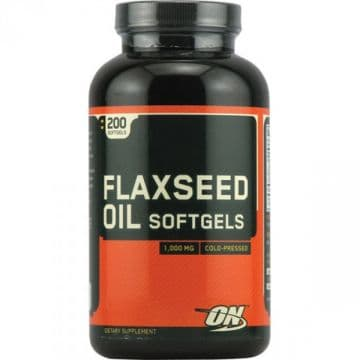 FLAXSEED 200 капсул Optimum Nutrition