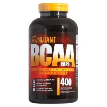 Mutant BCAA 400 капс. FitFoods