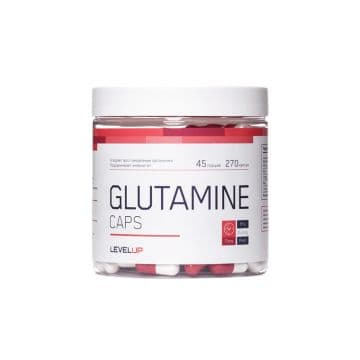 Glutamine Caps 270 капсул Level Up