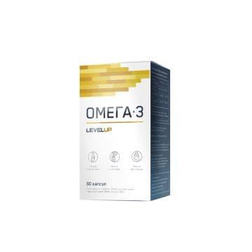 Omega-3 35% 60 капсул Level Up