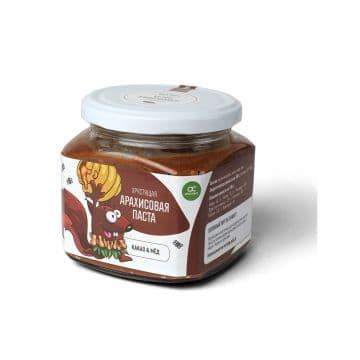 Арахисовая паста Хрустящая 400 грамм ORGANIC