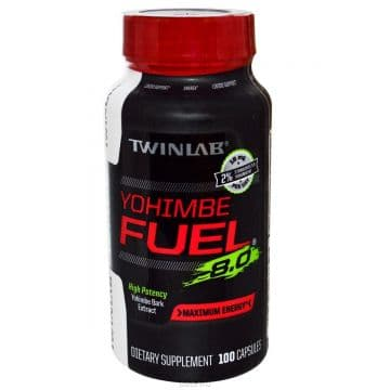 Yohimbe Fuel 100 капсул Twinlab