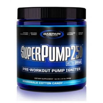 SuperPump250 with DMAA 325г Gaspari Nutrition