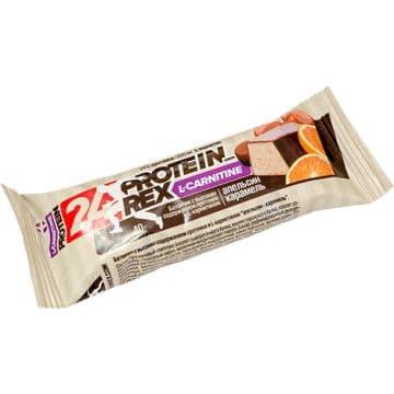 Протеиновый батончик ProteinRex L-CARNITINE 24% протеина