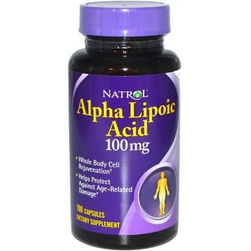 Alpha Lipoic Acid 100 мг 60 капс. Natrol