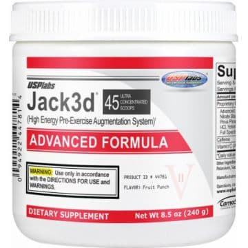 Jack3D ADVANCED FORMULA (45 порций) USPLabs