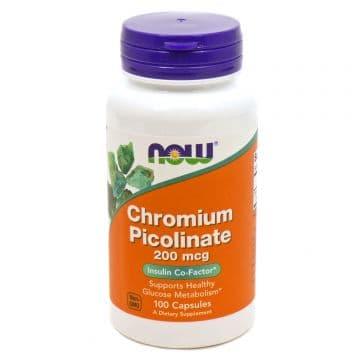 Chromium Picolinate 200 мкг 100 капс. Now