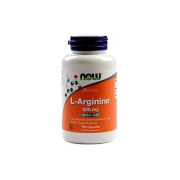 L-Arginine 500 мг 100 капс. NOW