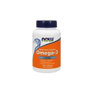 Omega-3 100 капс. NOW Foods