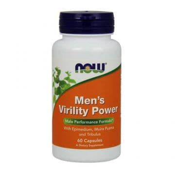 Mens Virility Power 60 капс. NOW